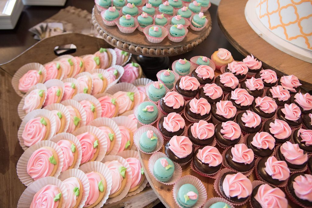 Spring Themed Desserts at Stonehem Hall College Station by Sandee's Sweets