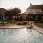 jamie hardin pool party wedding venue college station