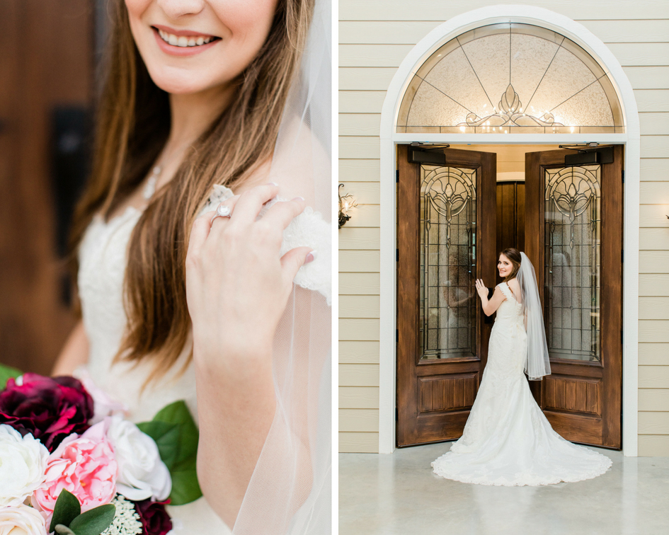 aggie bridal image doors tara barnes photography college station stonehem hall