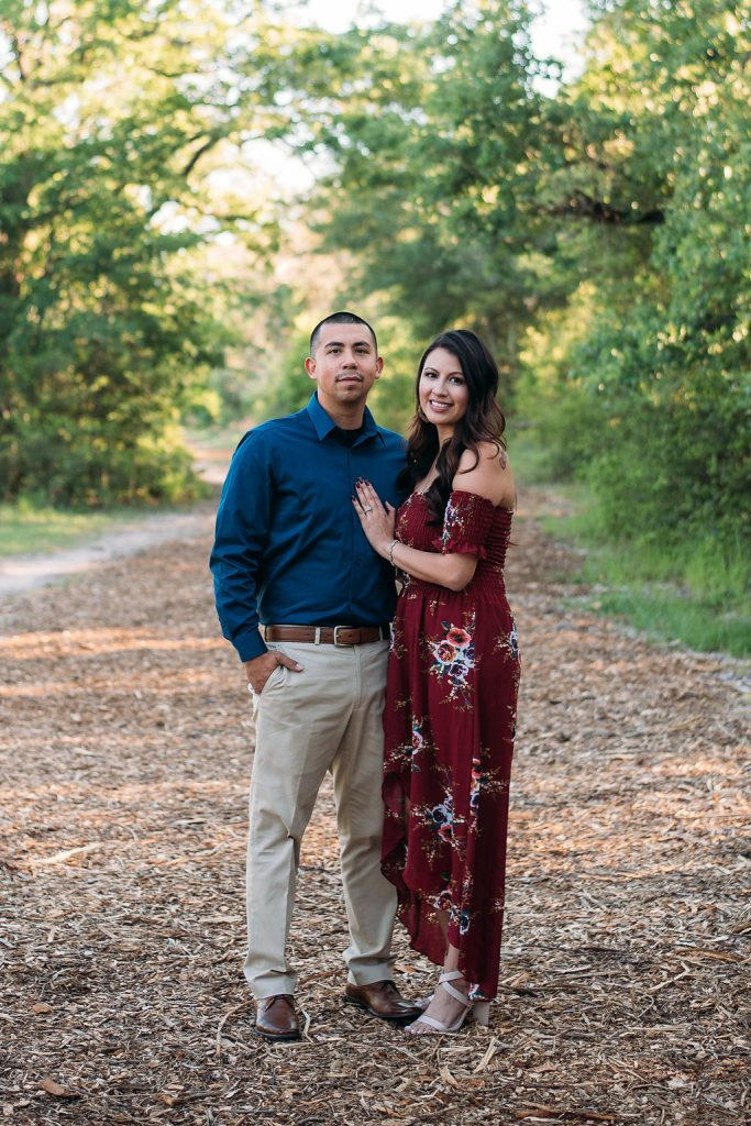 Engagement Outfit Ideas Red Blue San Angel Photography College Station texas