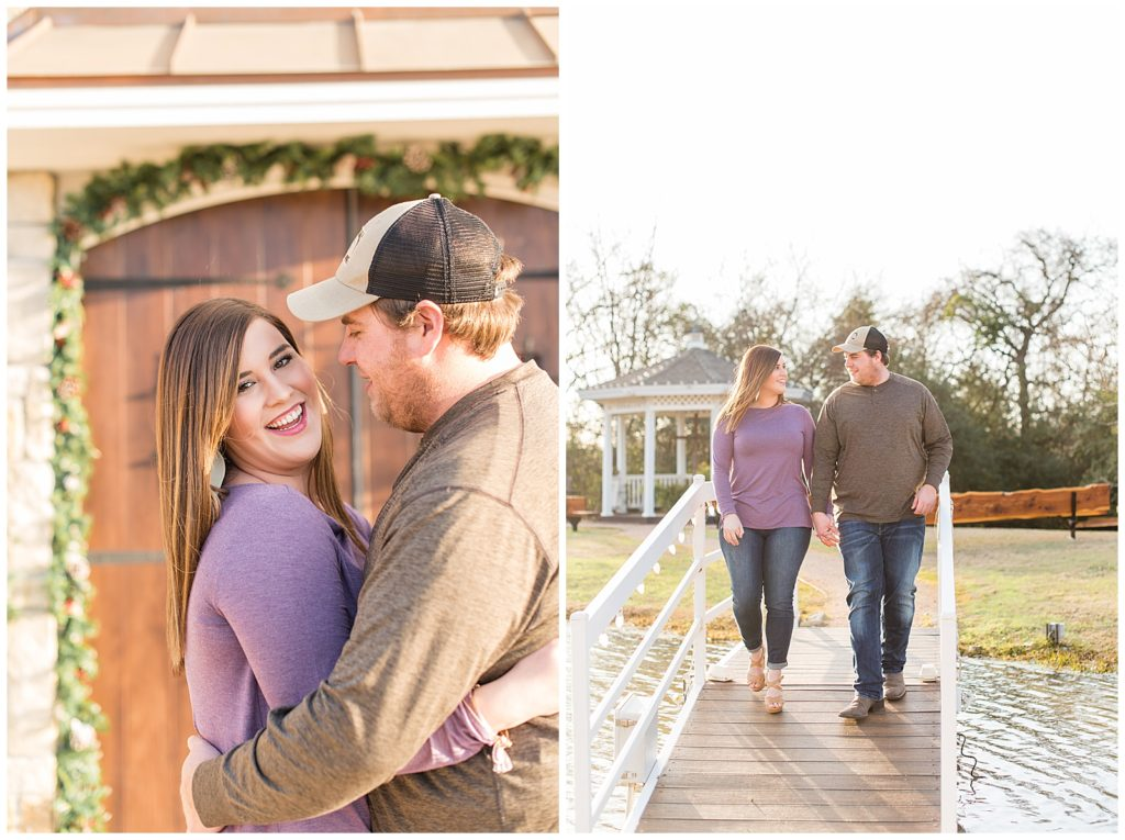 Melissa & Jimmy's Engagement Session at the Inn at Quarry Ridge in Bryan, TX with Katelyn Todd Photography