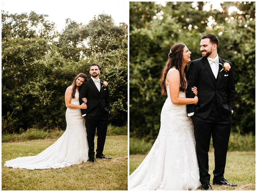 Mitch & Maria's Summer Wedding at The Inn At Quarry Ridge in Bryan TX