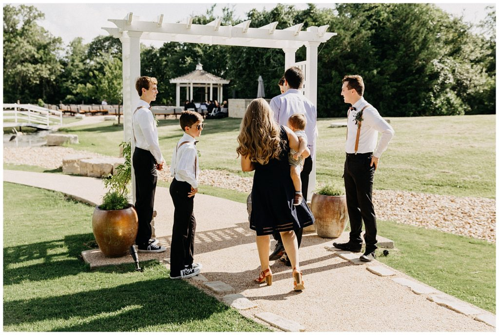 Chancey & Nathan's Wedding at The Inn At Quarry Ridge in Bryan TX photography by Created by Noah
